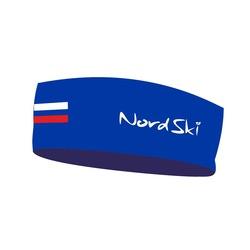 Повязка Nordski Active Rus син