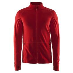 Толстовка Craft M Micro Fleece флис мужская красный