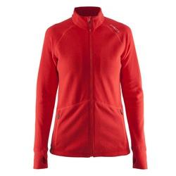 Толстовка Craft W Micro Fleece флис женская красный