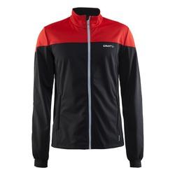Разминочная куртка Craft W Voyage мужская черн/красный