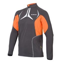 Рубашка OneWay Vega сер/оранжевый