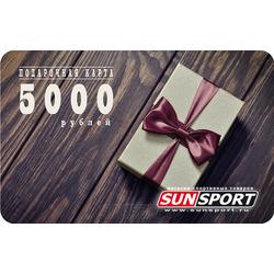 ПОДАРОЧНАЯ КАРТА 5000