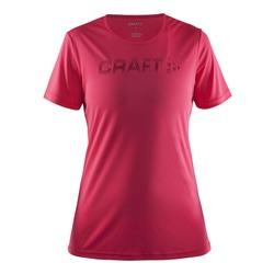 Футболка Craft W Prime Run Logo женская т.розовый