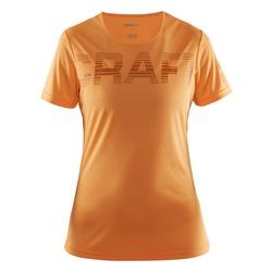 Футболка Craft W Prime Run Logo женская оранжевый