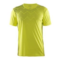 Футболка Craft Mind Run мужская жёлт