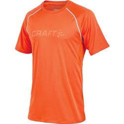 Футболка Craft Prime Run мужская оранж