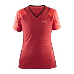 Футболка Craft W Devotion Run женская красный