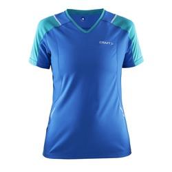 Футболка Craft W Devotion Run женская синий