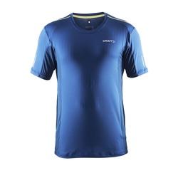 Футболка Craft Focus Run Mesh мужская синяя
