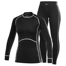 Комплект Craft Active Multi Color женский черн/серый