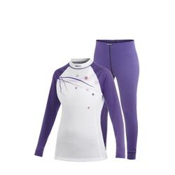 Термобелье Комплект Craft W Basic женский фиолет/белый