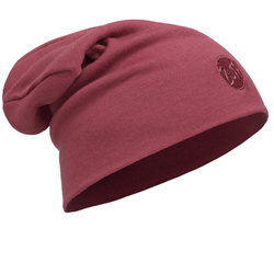Шапка Buff Heavyweight Merino Wool Loose Hat Solid Tibetan Red