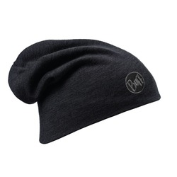 Шапка Buff Heavyweight Merino Wool Loose Hat Solid Black