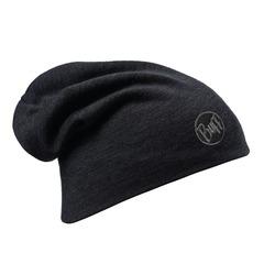 Шапка Buff Heavyweight Merino Wool Loose Hat Solid Black