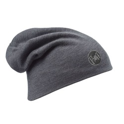 Шапка Buff Heavy Merino Wool Loose Hat Solid Grey