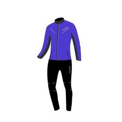 Разминочный костюм JR Nordski Premium SoftShell синий
