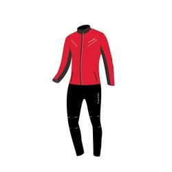 Разминочный костюм JR Nordski Premium SoftShell красный
