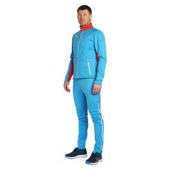 Разминочный костюм NordSki M SoftShell мужской National Blue