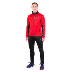 Разминочный костюм NordSki M Premium SoftShell мужской красный