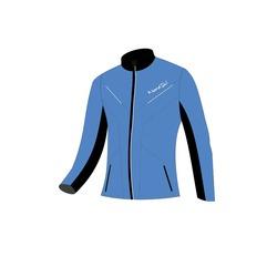 Разминочная куртка NordSki M Premium SoftShell мужская синяя