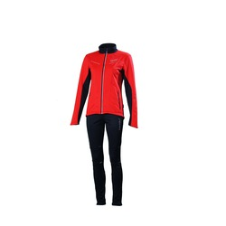 Разминочный костюм W Nordski Premium SoftShell красный