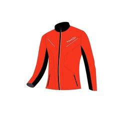 Разминочная куртка W Nordski Premium SoftShell красная