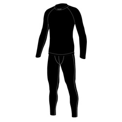 Комплект термо Jr Nordski Active черн