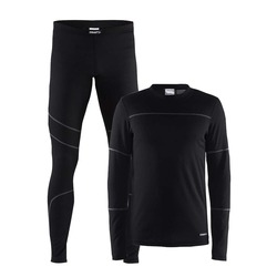 Комплект Craft Baselayer муж черн
