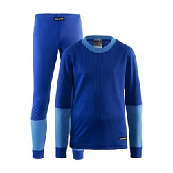 Термобелье Комплект Craft JR Baselayer детский синий