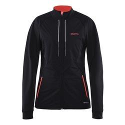 Разминочная куртка Craft W Storm 2.0 XC женская черн/розовая