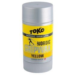 Мазь Toko Grip Wax твёрдая, жёлтая, 0°/-2°С, 25г.