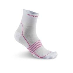 Носки беговые Craft Cool Training бел/розовый