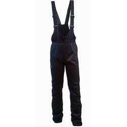 Разминочные штаны на лямках SkiKross WS черный