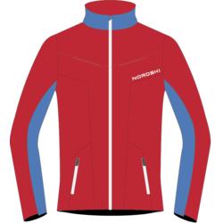 Разминочная куртка NordSki M SoftShell мужская National Red
