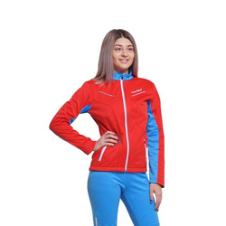 Разминочная куртка W Nordski SoftShell National Red