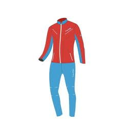 Разминочный костюм Jr Nordski SoftShell National Red