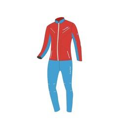 Разминочный костюм W Nordski SoftShell National Red