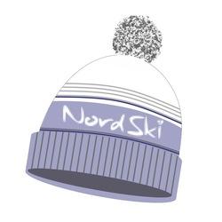 Шапка NordSki Stripe серый