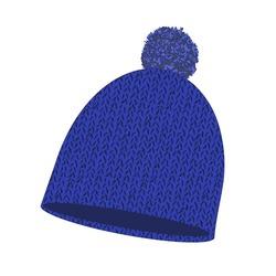 Шапка Nordski Knit синяя