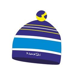 Шапка Nordski Bright т.синий