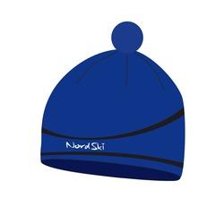 Шапка Nordski Line синяя