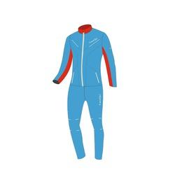 Разминочный костюм Jr Nordski SoftShell National Blue