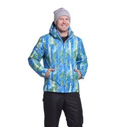 Утепленная куртка NordSki M City мужская Blue/Lime/Black