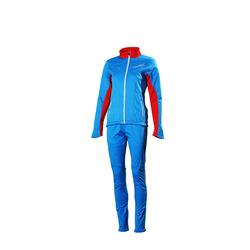 Разминочный костюм NordSki W SoftShell женский National Blue