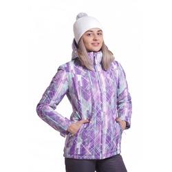 Утепленная куртка W Nordski City Violet/Mint/Grey