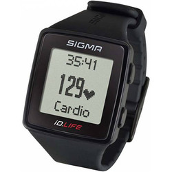 Часы Пульсометр Sigma ID.LIFE Black