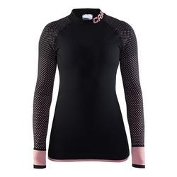 Термобелье Рубашка Craft W Warm Intensity женская т.сер/розовый