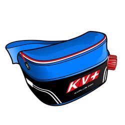 Подсумок-термос KV+ 1л черн/красн/синий