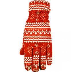 Перчатки Swix W Myrene женские красный принт