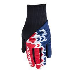 Перчатки Swix M PegasusX мужские красн/синий